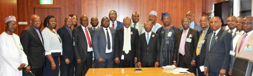 AuGF visits Central Bank of Nigeria