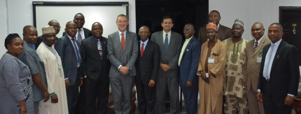 IMF Officials pay a courtesy visit to AuGF