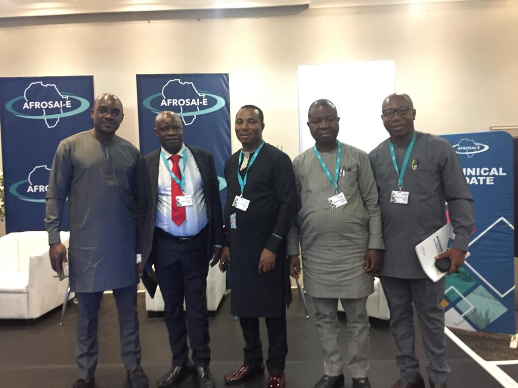 Representatives of SAI Nigeria (OAuGF) at the ongoing AFROSAI-E Annual Technical Update in Johannesburg, South Africa